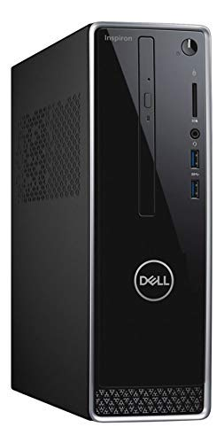 2019_Dell Inspiron Small Desktop PC, Intel Pentium Processor, 4GB RAM, 1TB HD, DVD R/W, WiFi+Bluetooth, HDMI, Windows 10, Mouse and Keyboard Included