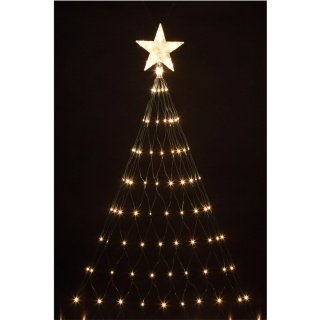 good looking 160 led tree net christmas light with star