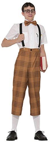 Book Nerd Costume (Mr Nerd Men Costume Set)