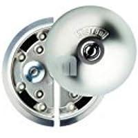 UFO-398 8080331215D Cerradura de Seguridad, 0 V, Nickel