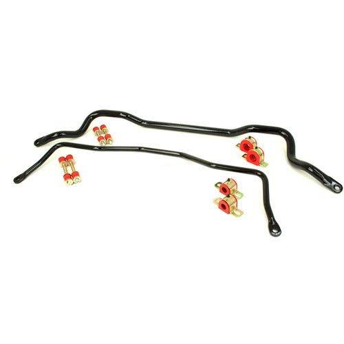 Front 1 Sway Bar 3/8 (UMI Performance 211213-B GM F-Body UMI Performance Solid Front & Rear Sway Bar Set Kit - Black)