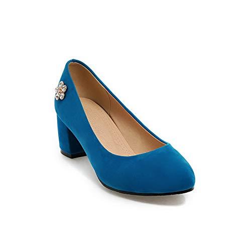 35 1TO9 Blu Sconosciuto Zeppa con Sandali Blue Donna MMS06125 R7ZqvxB