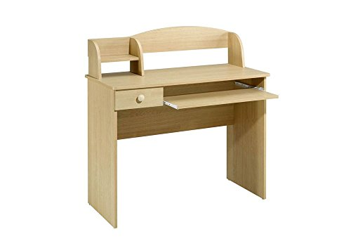 Natural Maple Compact Desk Natural Maple Dimensions: 39.75