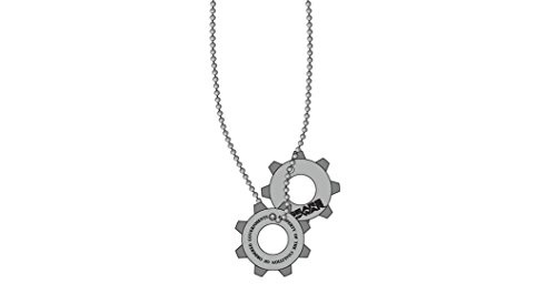 Gears of War Dog Tag Necklace