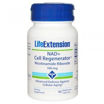 Vida extensión nad + regenerador celular Nicotinamide riboside cápsulas, 30 Count