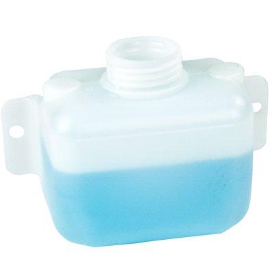 1 Quart Natural High Density Polyethylene Tank w/Mounting Tabs 5.375'' L x 6.00'' W x 3.625'' H (2.25'' Neck)