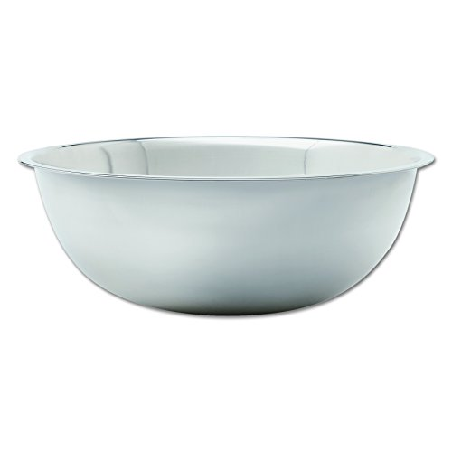 "Adcraft SBL-30 30 qt Capacity, 22-5/8"" OD x 7-1/2"" Depth, Stainless Steel Extra Large Mixing Bowl with Mirror Finish"