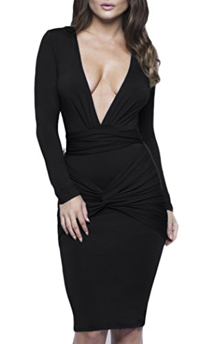 Mr Seven Womens Knotted Bodycon Dresses product image