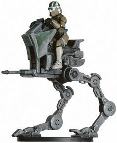 Star Wars Miniatures: AT-RT # 4 - Revenge of the Sith