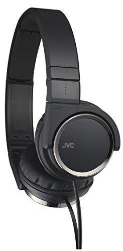 JVC Victor Head band Foldable Headphones | HA S400 B Black  Japanese Import