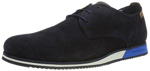 Pikolinos Leon M8e_v17, Zapatos de Cordones Oxford para Hombre Azul (Navy Blue)