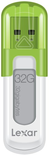 Lexar JumpDrive V10 32GB USB Flash Drive LJDV10-32GABNL (Green)