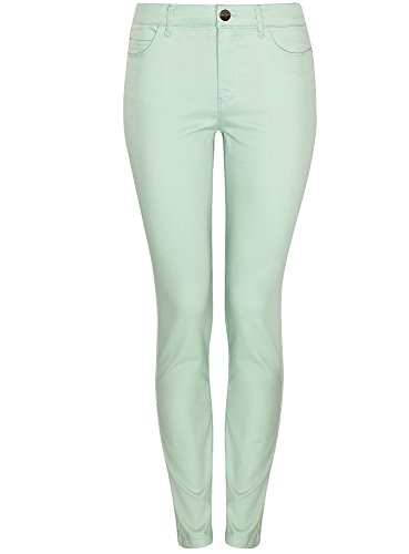 Fit Verde Slim Ultra Oodji 6000n Donna Jeans Basic xnUC6v