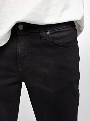 Nudie Jeans Men's Skinny Lin Black