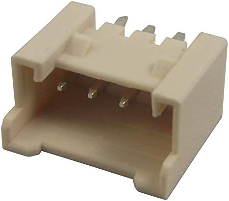 353620450 Header 2 mm RoHS Compliant: Yes-353620450 Through Hole 4 Sherlock 35362 Series Straight Pack of 100 Wire-To-Board Connector
