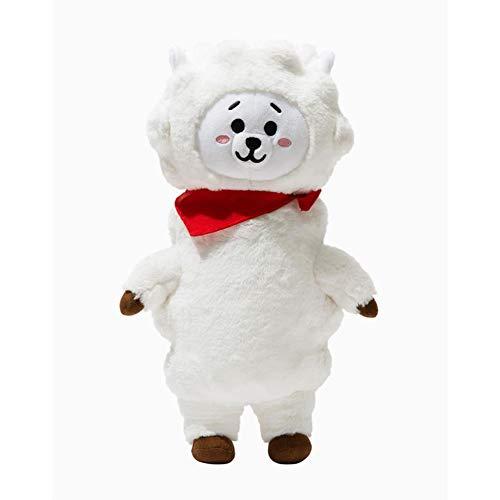 kpop bts plush toy Bangtan Boys BTS Same Doll Pillow Plush Cushion Warm Bolster Q Character -
