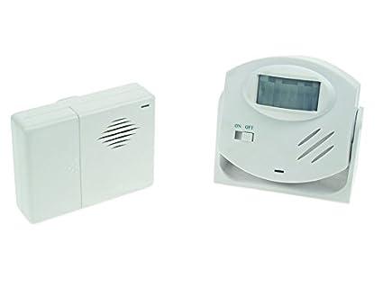Timbre Alarma con detector