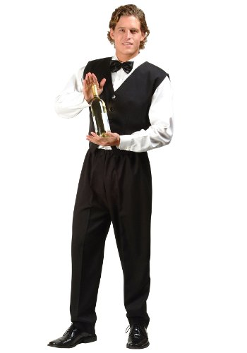 Chippendale Bartender Adult Costume Size X-Large