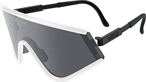 Oakley Mens SE Eyeshade Heritage Collection Sunglasses, White/Grey, One - For Oakley Sunglasses Best Cycling