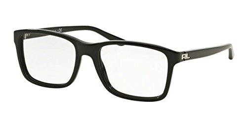 Ralph Lauren RL6141 Eyeglass Frames 5001-55 - Black - Eyeglass Lauren Ralph