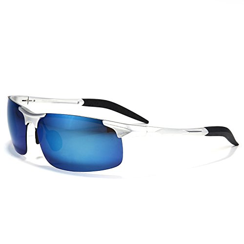 TIANLIANG04 gafas de sol anti gafas polarizadas magnesio la impulsar Argento modo de oro capa UV400 hombres Bastidor lente de aluminio reflectante de sol de en reflexión xYwnqrY1Cg
