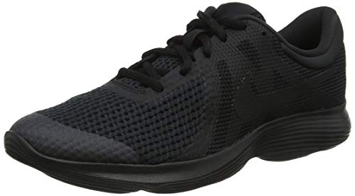 (Nike Men's Revolution 4 Running Shoe, Black, 14 Regular US)