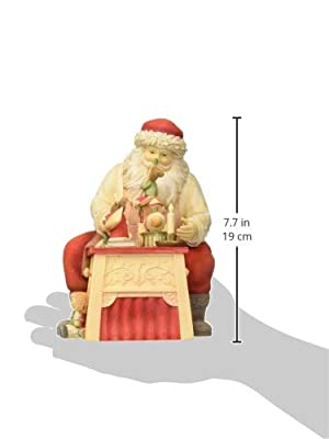 """Enesco Heart of Christmas Finishing Touches Mice Brushes Figurine, 7.48"""", Multicolor"""