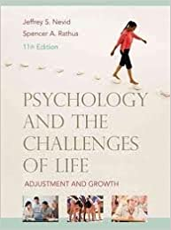 Psychology and the Challenges of Life 11th (eleventh) edition