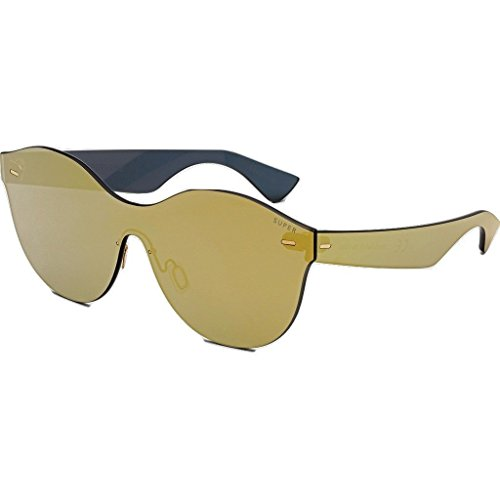 Super Women's Tuttolente Mona Gold Gold - Jlo Sunglasses