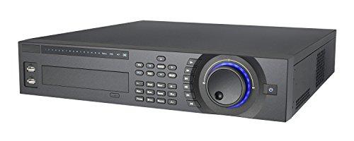 16-Channel 2U Hybrid DVR: 8h Effio 960H + Audio, 8ch IP, HDMI/VGA/TV/Spot/BNC, ONVIF, e-SATA, Dual-NIC Gigabit iPhone Apps: iDMSS, Andorid Apps: gDMSS