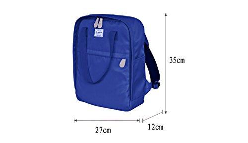Bolso de la momia de la manera, para ser paquete producido, bolso, bolso de hombro ( Color : Azul zafiro ) Azul claro