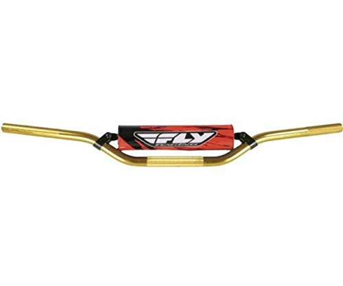 Fly Racing 6061 T-6 Aluminum Gold Handlebar for Mini Bend - One Size