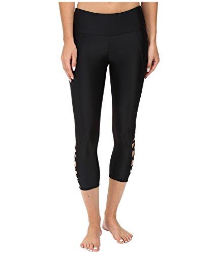 Onzie Women's Weave Capri, Black, ()