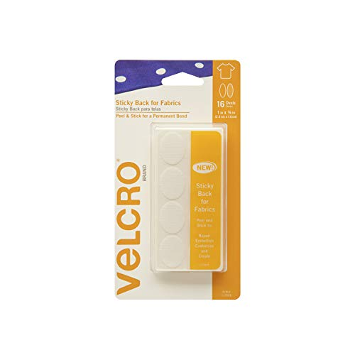 VELCRO Brand - Sticky Back for Fabrics Fasteners | No Sewing Needed | 1