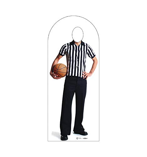 Advanced Graphics Referee Stand-In Life Size Cardboard Cutout Standup