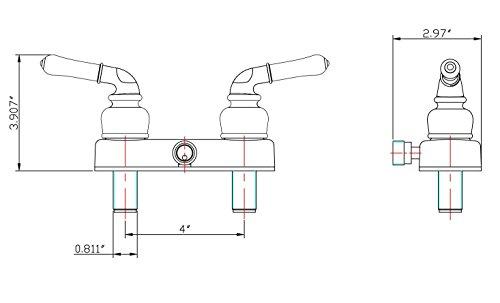 dura faucet rv shower faucet valve diverter