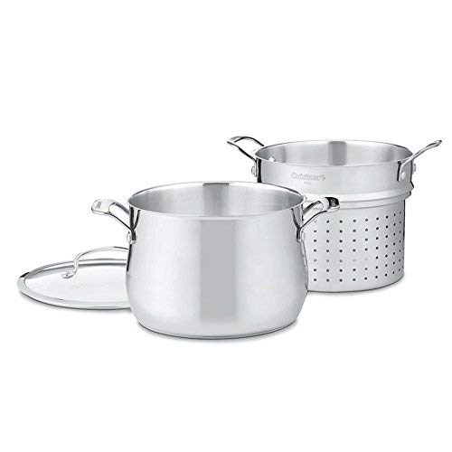 Cuisinart 44-22 Contour Stainless 6-Quart, 3-Piece Pasta Pot with Cover by Cuisinart (Image #3)