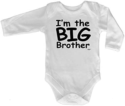 Funny Baby Infants Babygrow Romper Jumpsuit Im The Big Brother