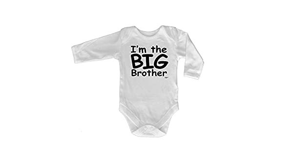 Im Going To Be The Big Brother Funny Baby Infants Babygrow Romper Jumpsuit