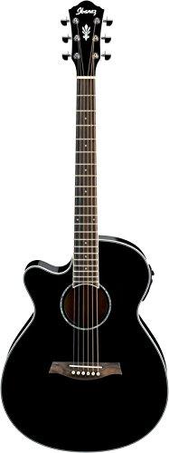 Ibanez AEG10II Left-Handed - Black