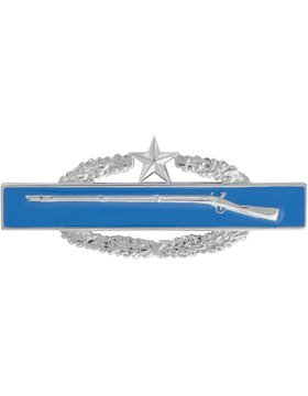 - NS-516, Combat Infantryman Badge (CIB), 2nd Award Dress Miniature, No- NO SHINE
