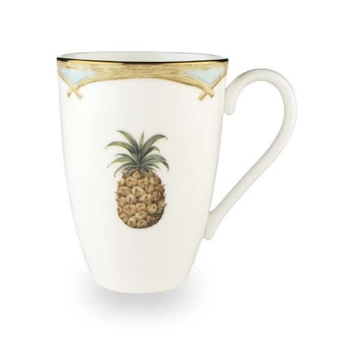 Lenox Colonial Bamboo Gold Banded Bone China Mug
