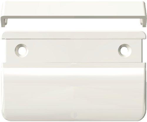 70x50x12, poigné e de tirage rectangulaire, RAL 9010 blanc pur, VE=10 poignée de tirage rectangulaire HEICKO