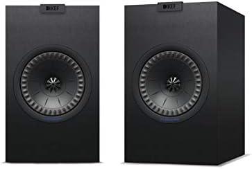 KEF Q350 Bookshelf Speakers (Pair, Black)