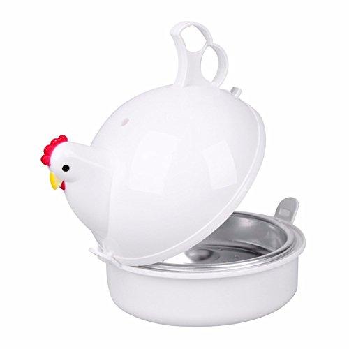 Escalfador de huevos - Creative Pollo en forma de microondas ...