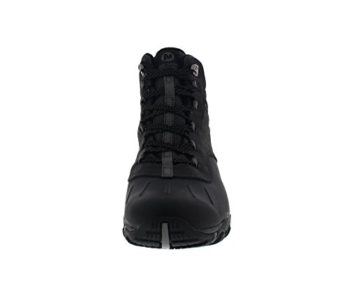 MERRELL Boots - ATMOST MID WTPF - black castle rock Black / Castlerock