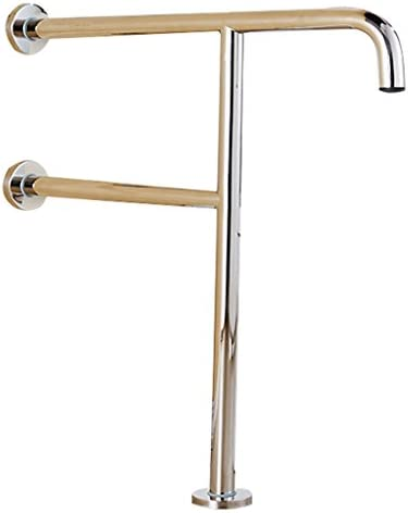 IVHJLP ステンレススチール製の安全手すり - 浴室手すり - 高齢者、妊婦、障害者 - トイレ手すり - バリアフリー手すり