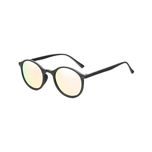 Fashion Round Polarized Sunglasses Retro Men Eyeglasses Women Shades Sun Glasses UV400 Eyewear,03