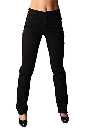Donna Pioneer Kate Nero Straight Da Leg Jeans BXRqX