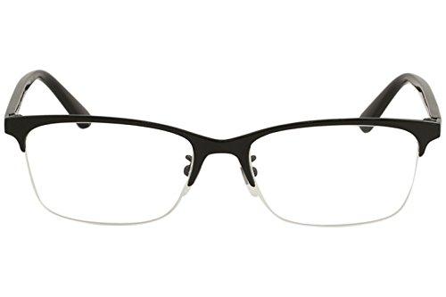 434947a9b7654 Gucci Men s Eyeglasses GG0132OJ GG 0132 OJ 001 Black Titanium Optical Frame  56mm